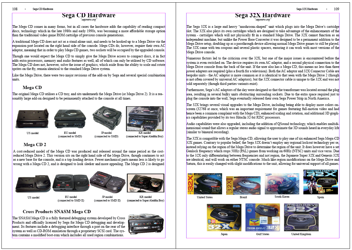 the Sega CD/32X Encyclopedia Book by DaddaRuleKonge