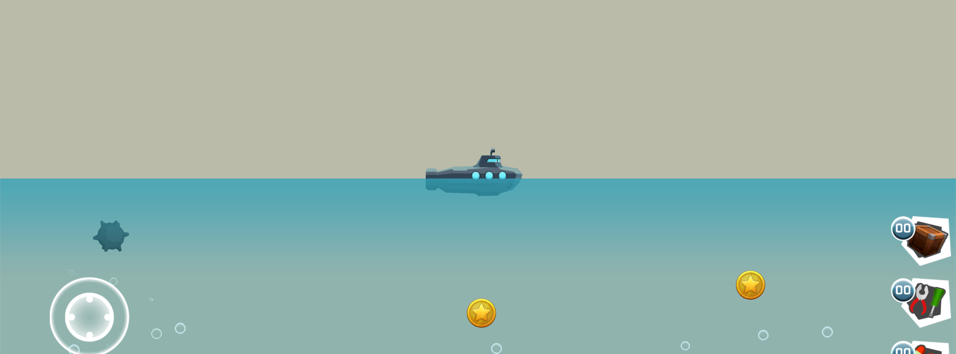 Submarine - Underwater world (2D)
