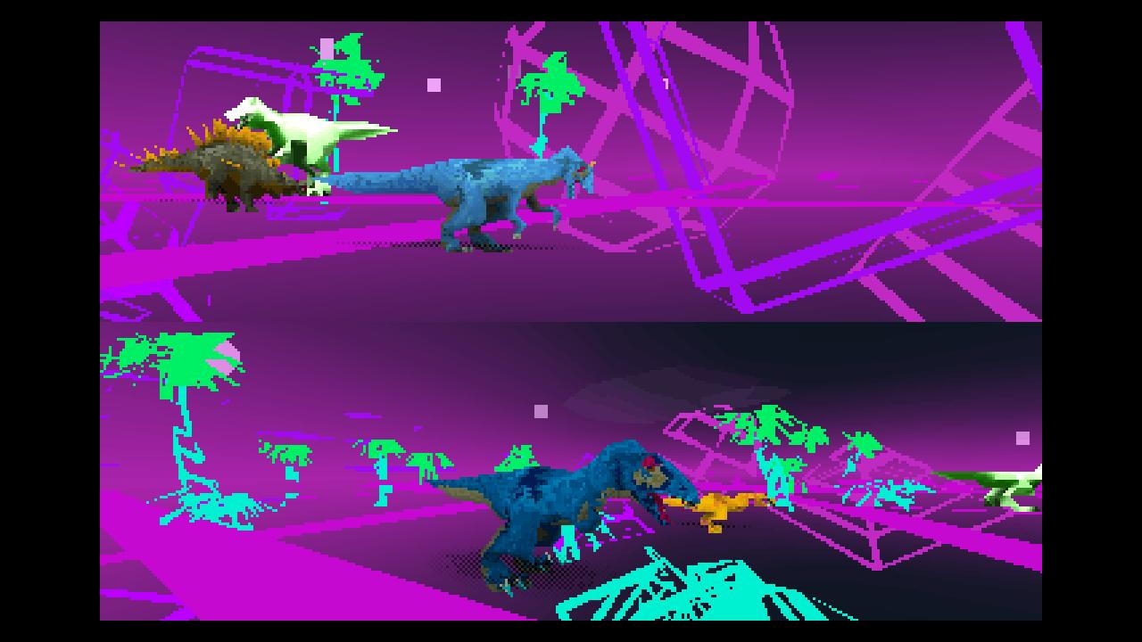 Dino Walk Simulator