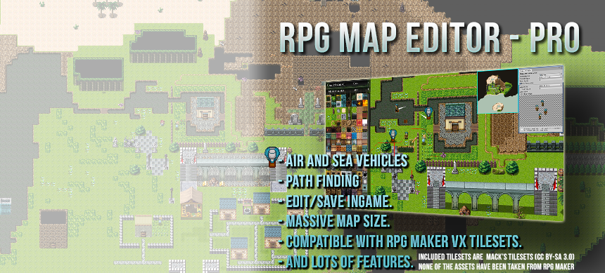 RPG Map Editor by creativespore