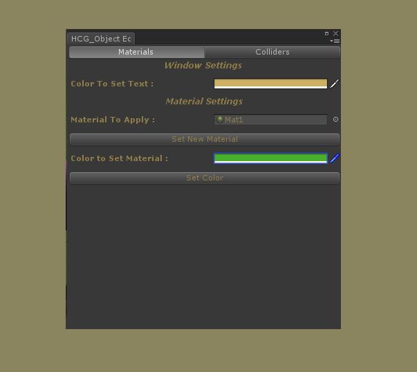 Custom Editor for Unity by HCG