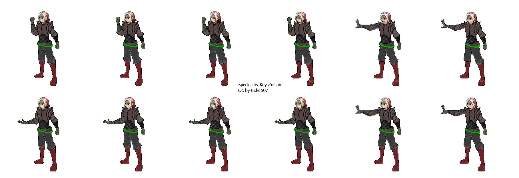 Kay Zaman's SV Tall Sprites (GMEM) by KayZaman