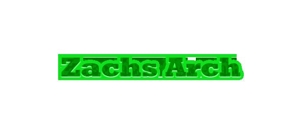 Zachs Arch