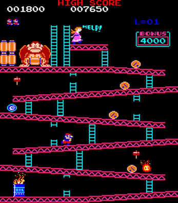 Donkey Kong Redux By 80s Arcade Games