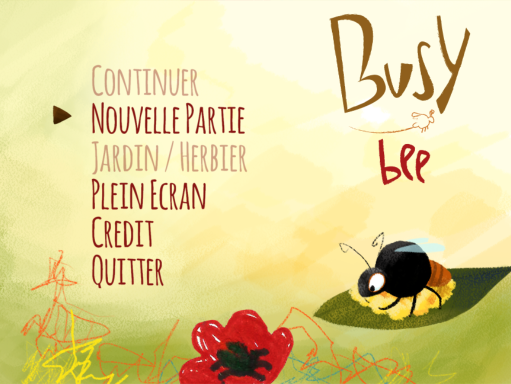 Busy Bee by iii studio for Oujevipo Contest #2 : KIDS - itch.io