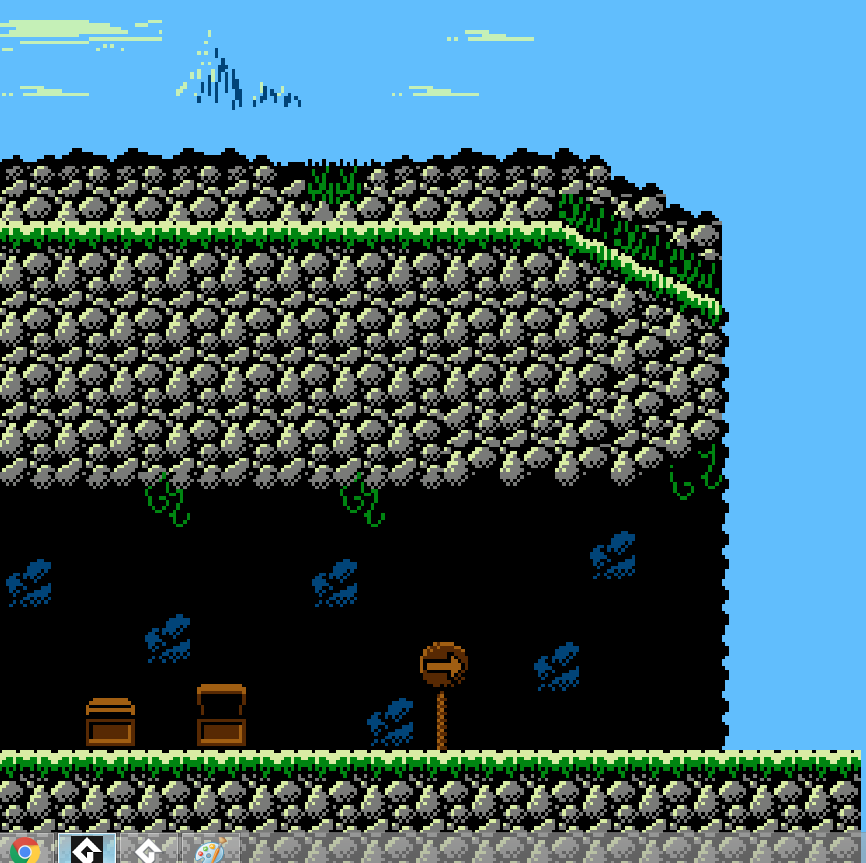 PLATFORMER Asset Tile Set 'Stonelands' NES by Chasersgaming