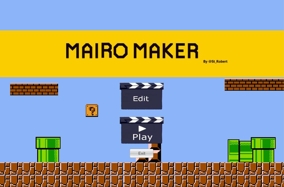 Mairo Maker [CANCELED] by Robert vega