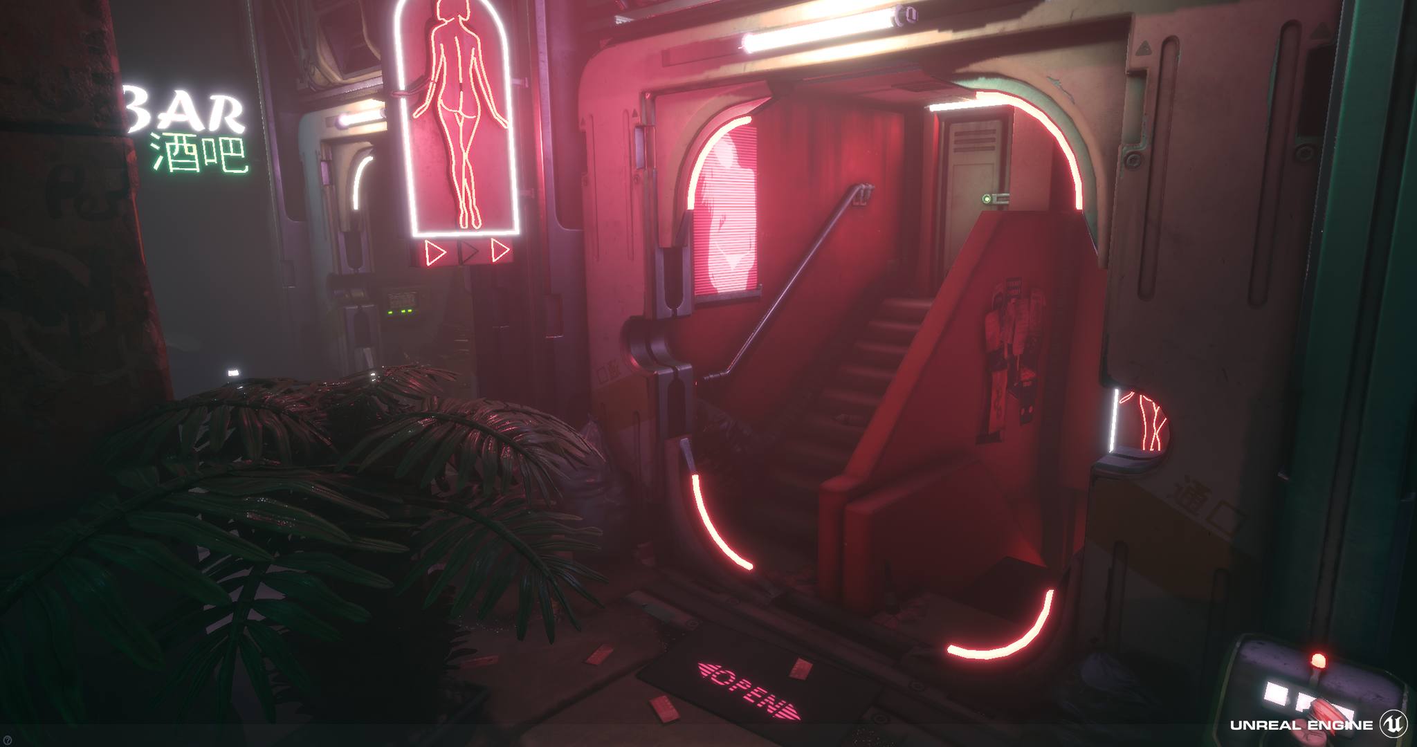 City Bowels (Cyberpunk Environment) by fightingsharpie for
