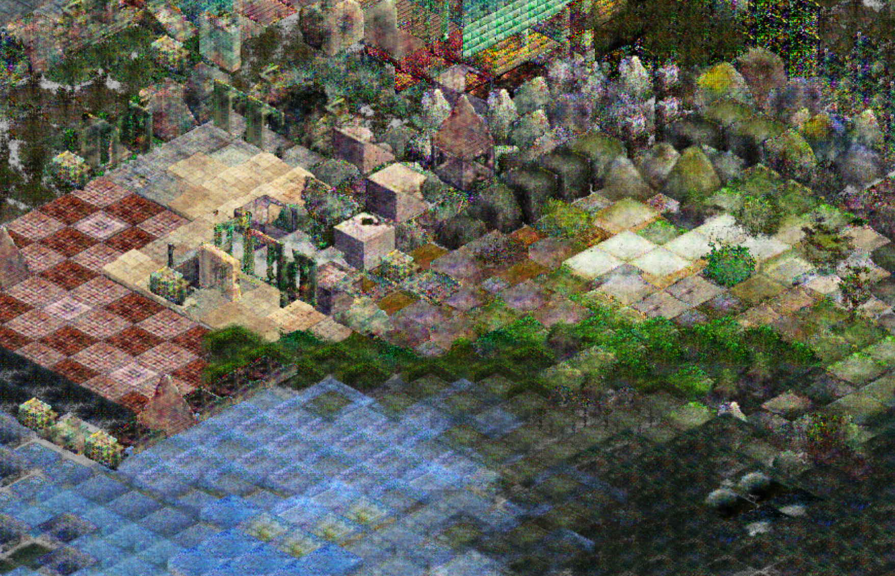 Mushy - an asset pack of neural network generated isometric
