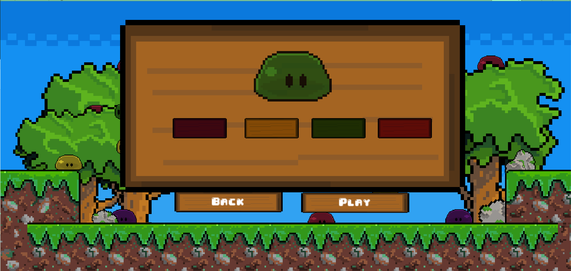 Slime Forest by palicron for Homa Games Monthly Game Jam - itch io