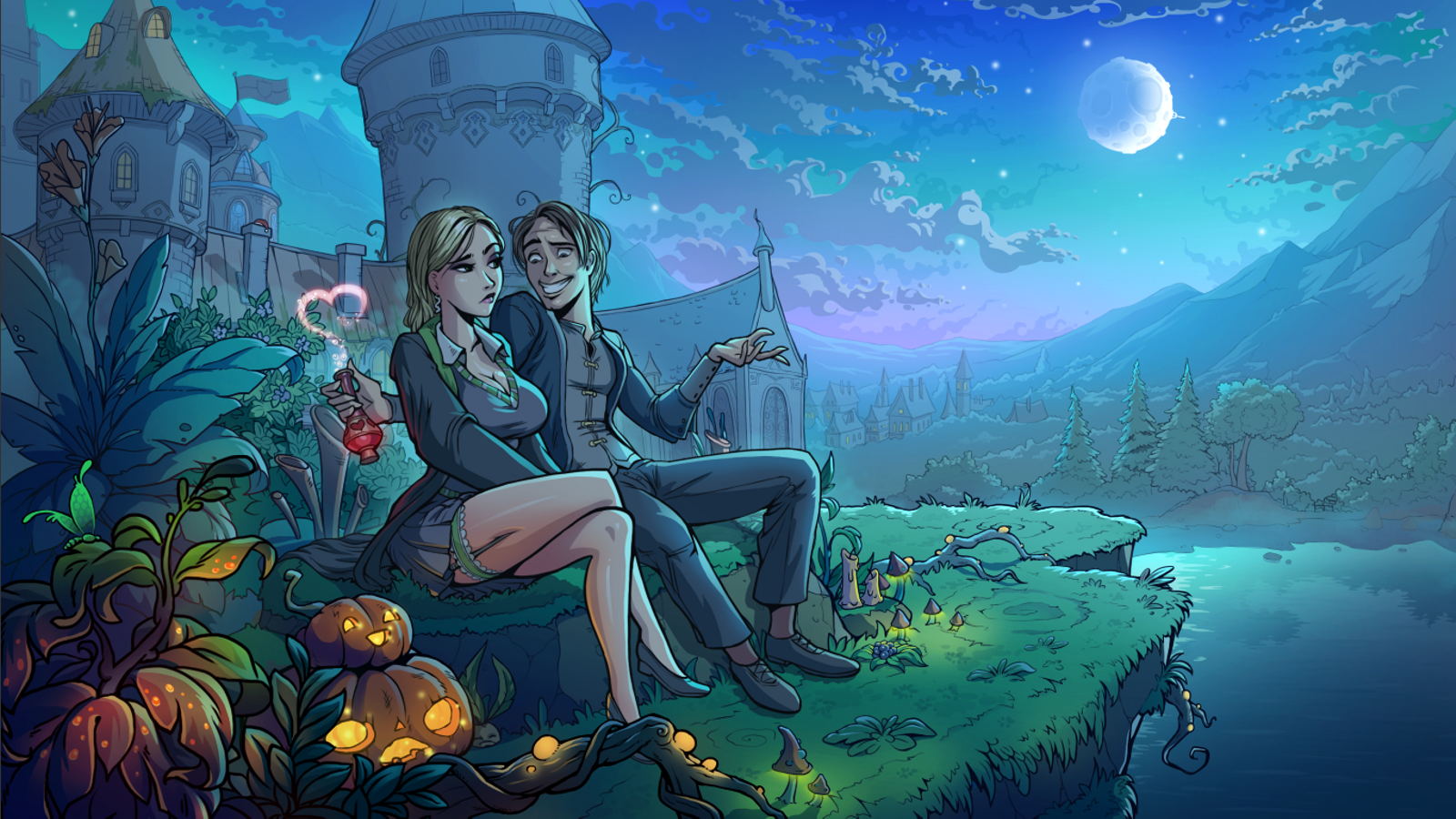 (18+)Innocent Witches APK v0.6.5F 4