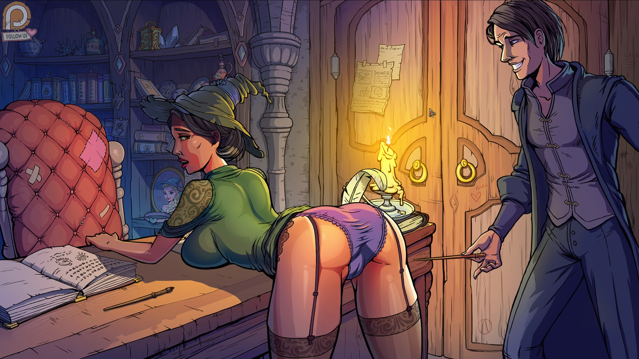 (18+)Innocent Witches APK v0.6.5F 6