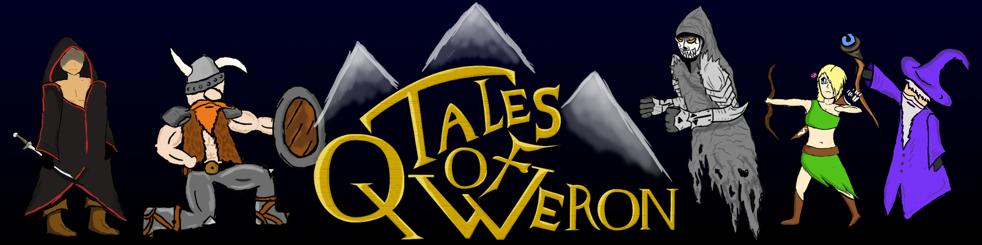 Tales of Qweron : chapter 1 The body and the soul