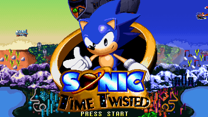 Sonic Time Twisted by Overboundn