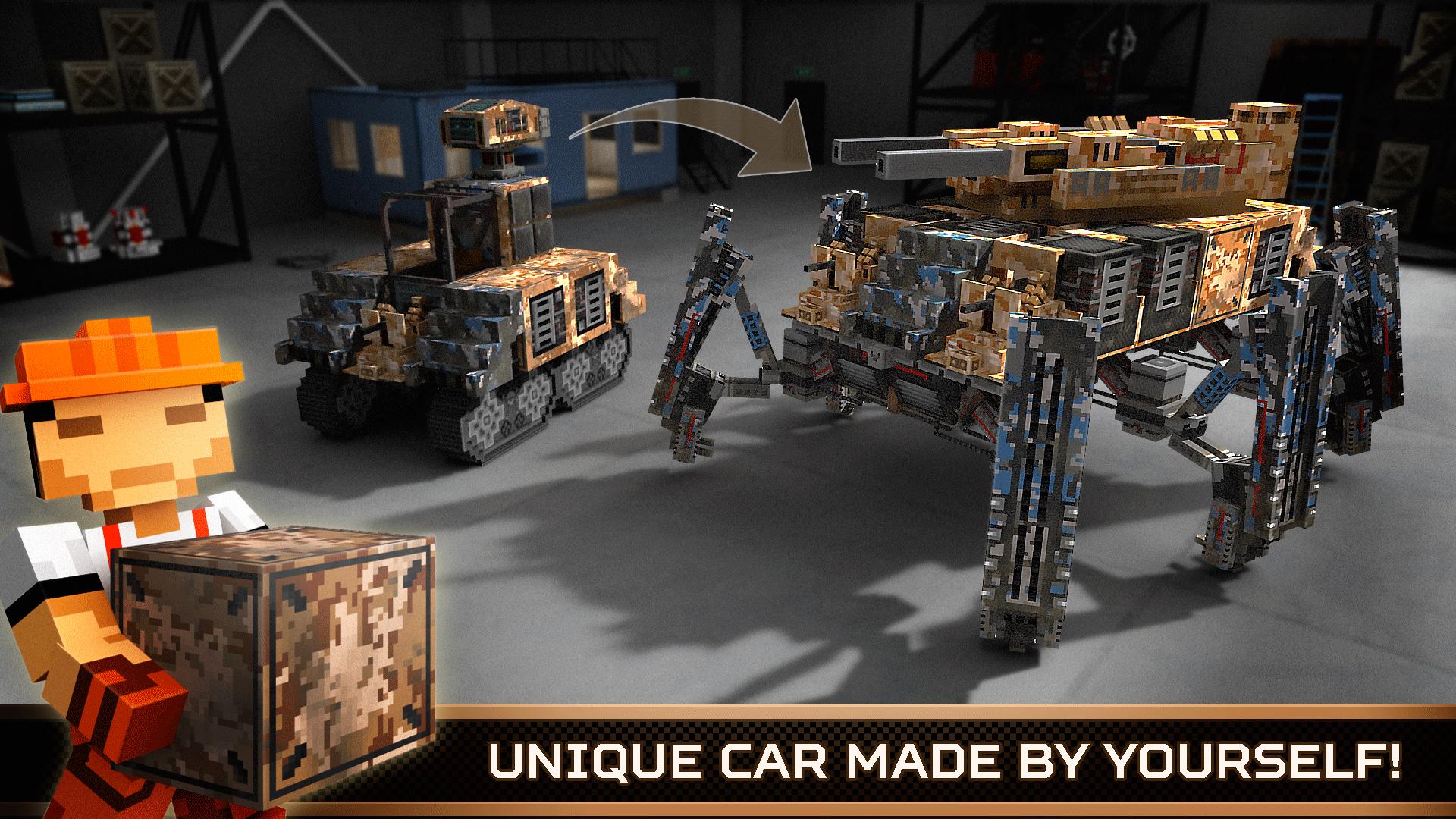 Blocky Cars Online by Infinite Games Studio
