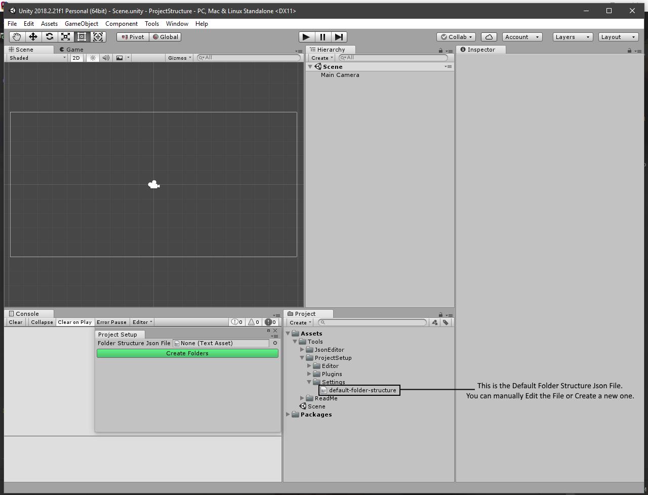 Project Setup Tool by Uee