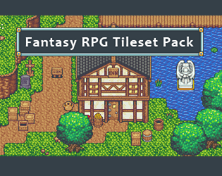 Comments - Fantasy RPG Tileset Pack by finalbossblues