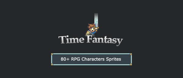 80+ RPG Characters Sprites