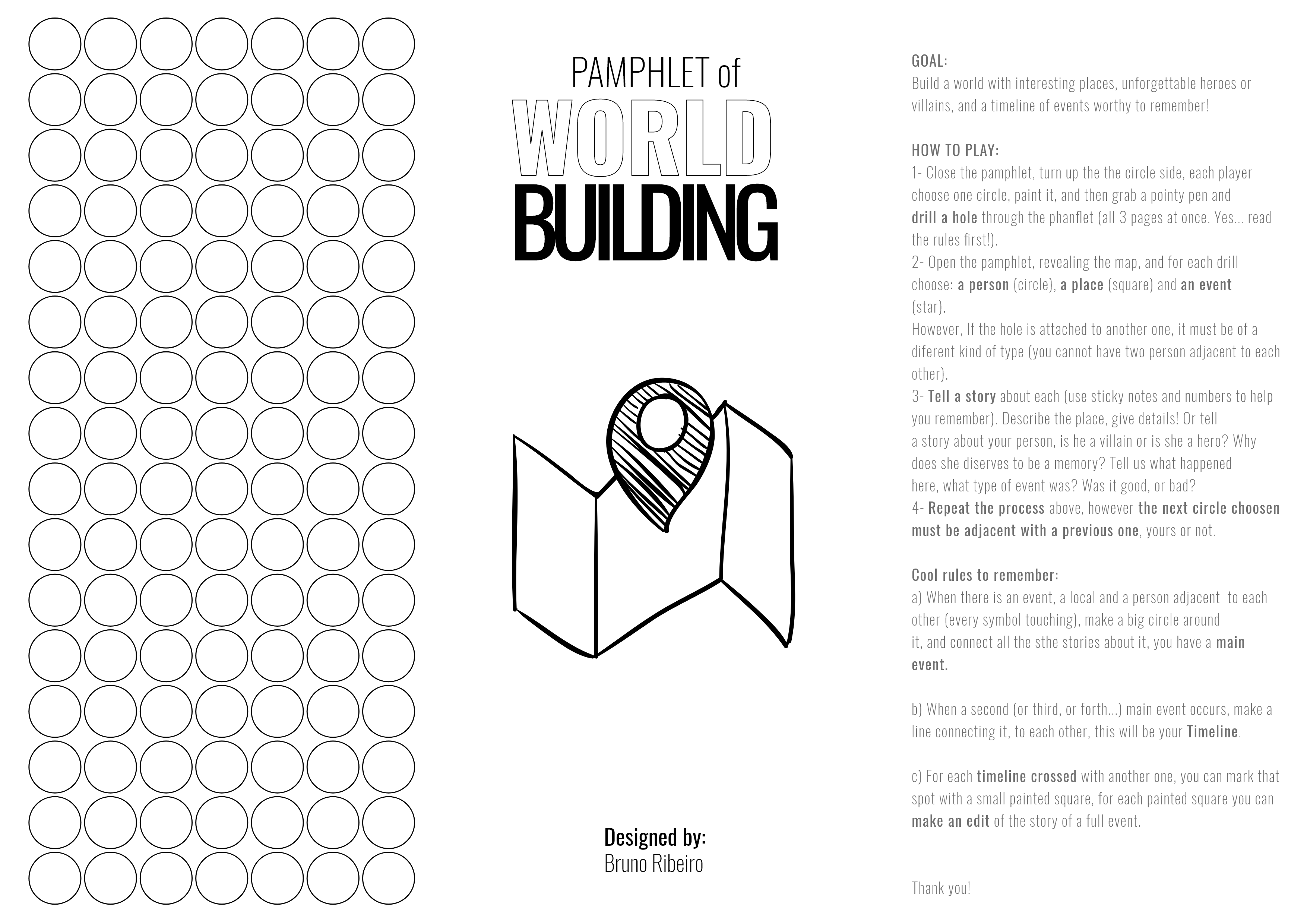 Pamphlet of World Building by Rola Iniciativa for Pamphlet