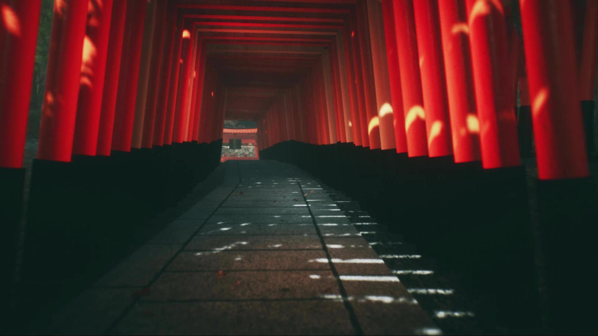 Explore Fushimi Inari by caves rd