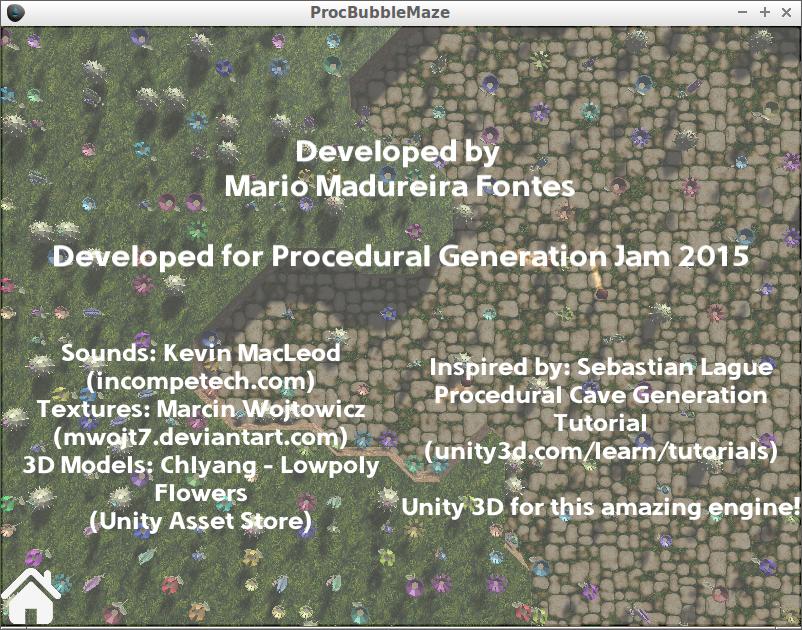 Proc Bubble Maze by Mario Madureira Fontes for Procedural