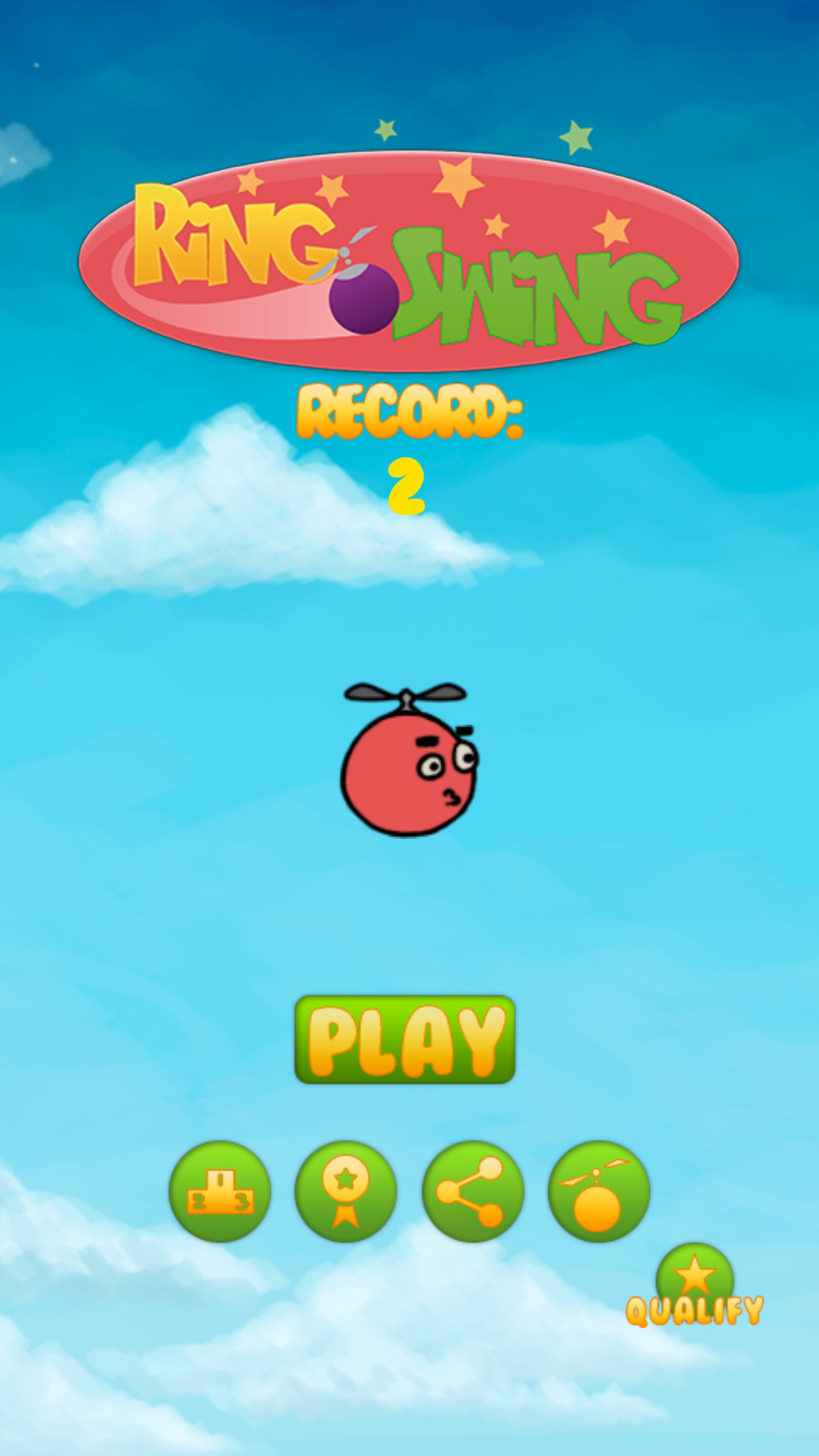 Ring Swing - New android game - Ring Swing by Colega Software