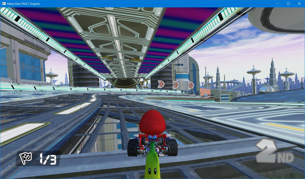 Mario Kart DX12 by Matt Filer