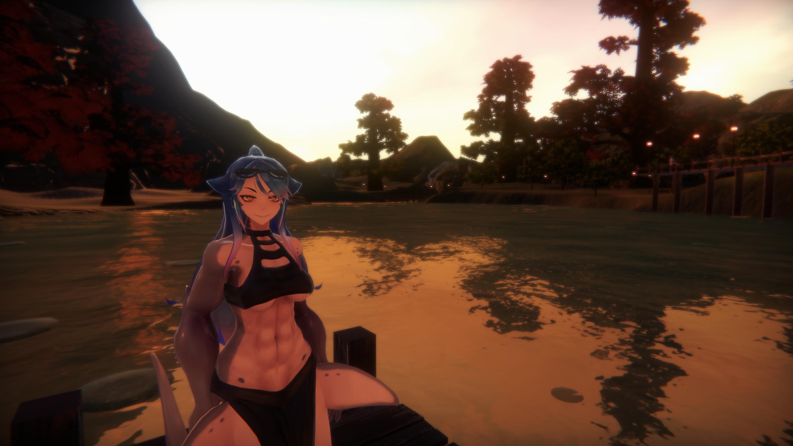 Download free monster girl island mako scene build