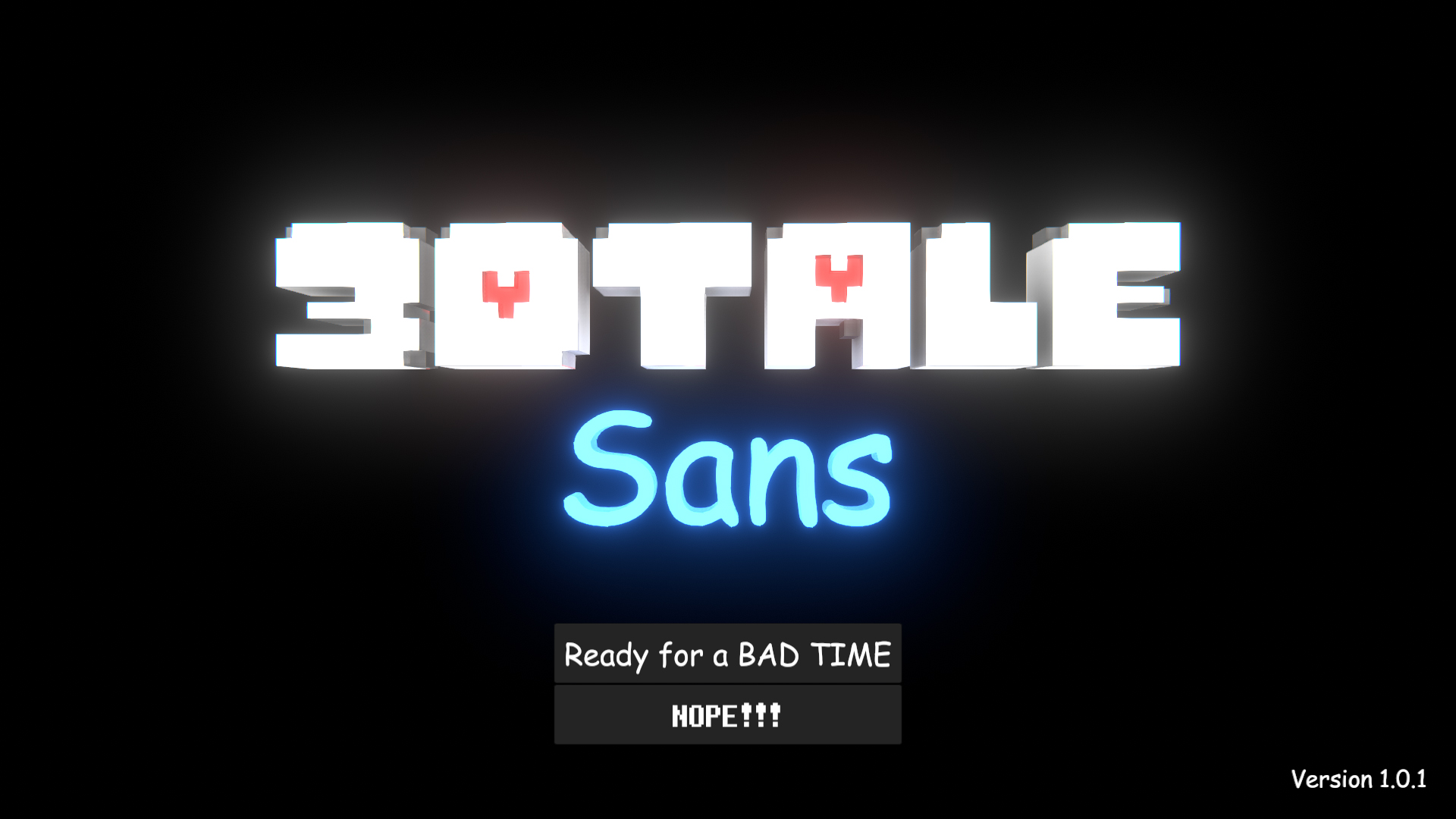 3dtale Sans By Eightblackey