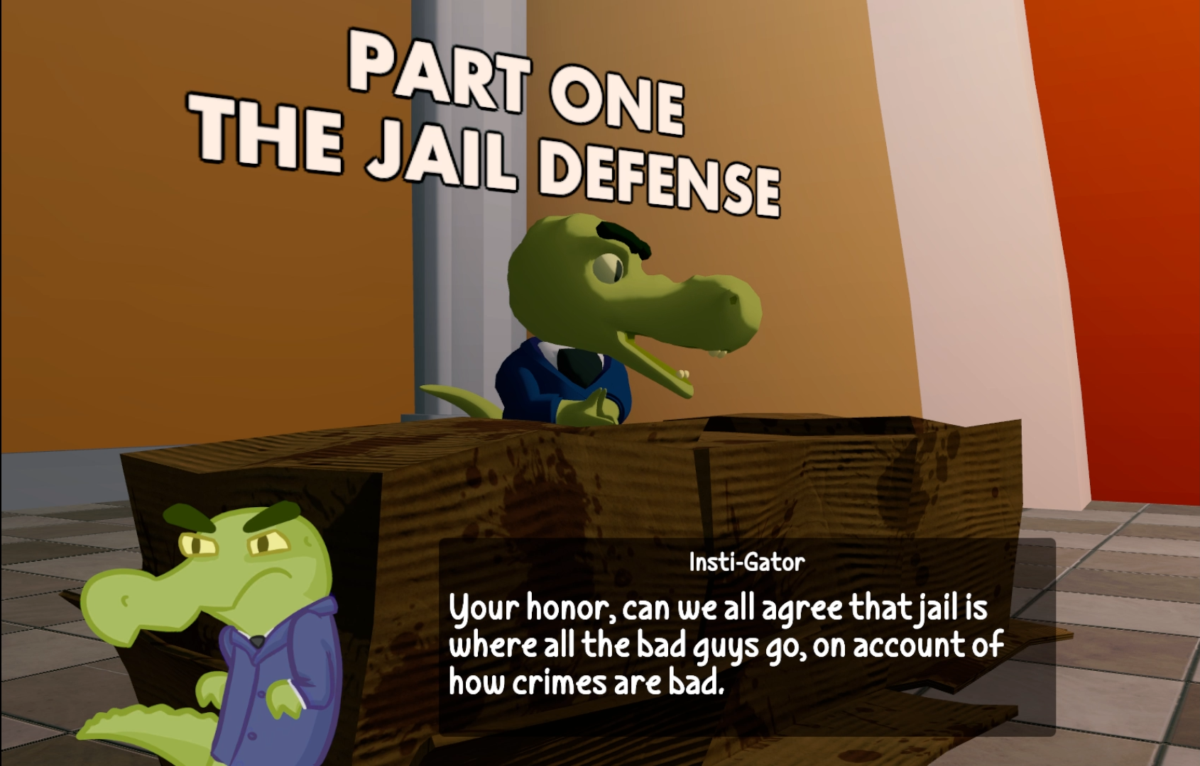 Investi-Gator: The Case of the Big Crime by Games By Bees