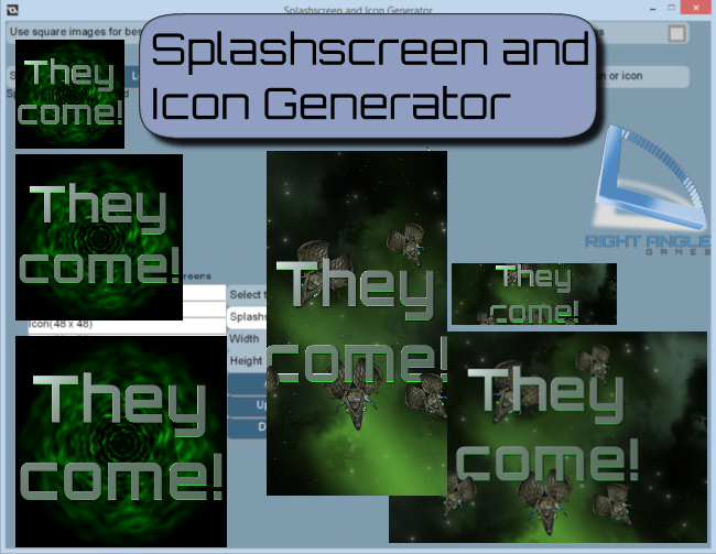 Splashscreen and Icon Generator by Thomas Haaks (Right Angle Games)