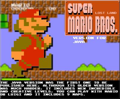 Super Mario Bros Lost-Land by BloodserGames