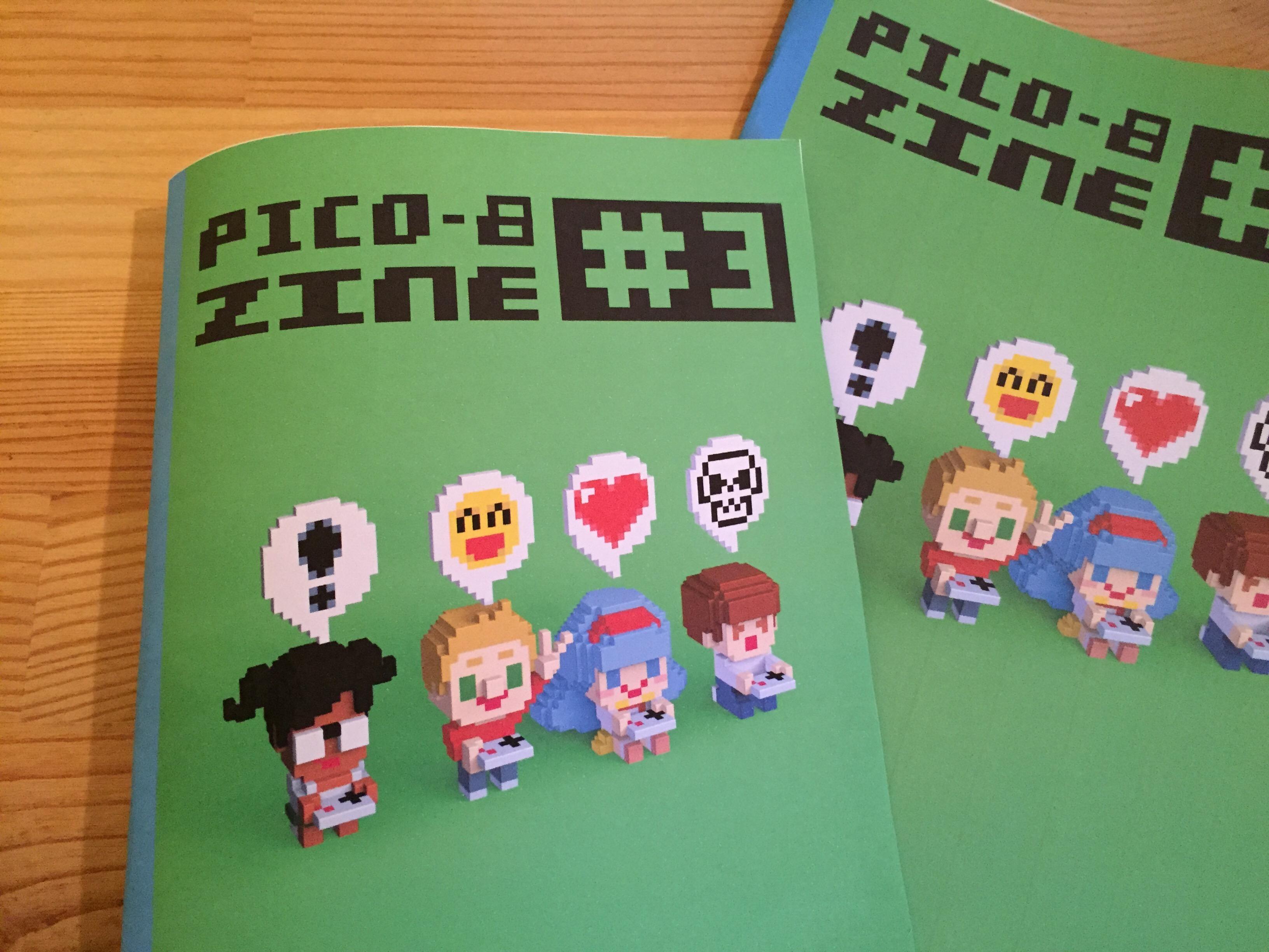 Pico-8 Fanzine  #3
