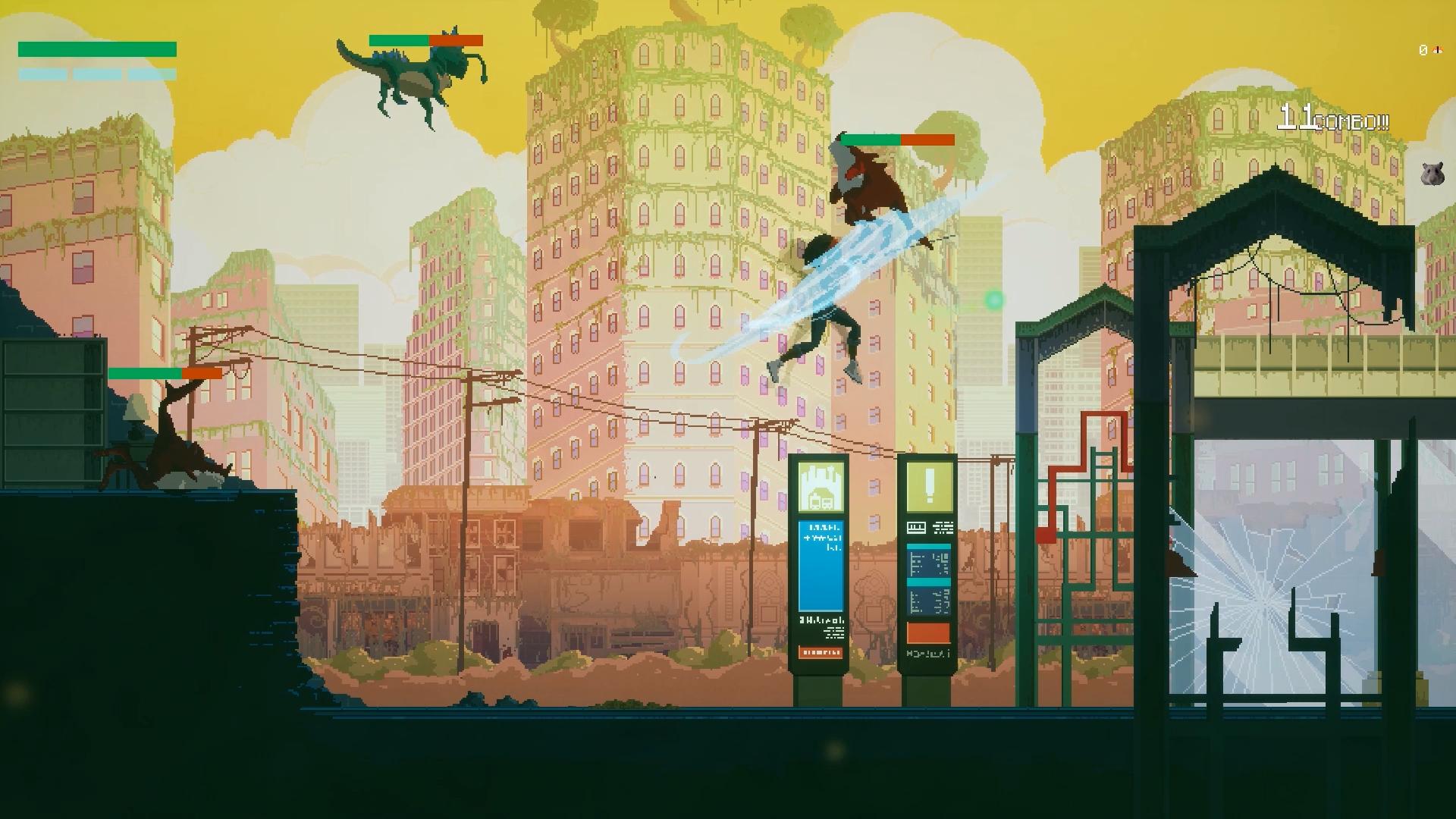 Behind the scenes: Pixel art in Unreal Engine 4 - Slice Back