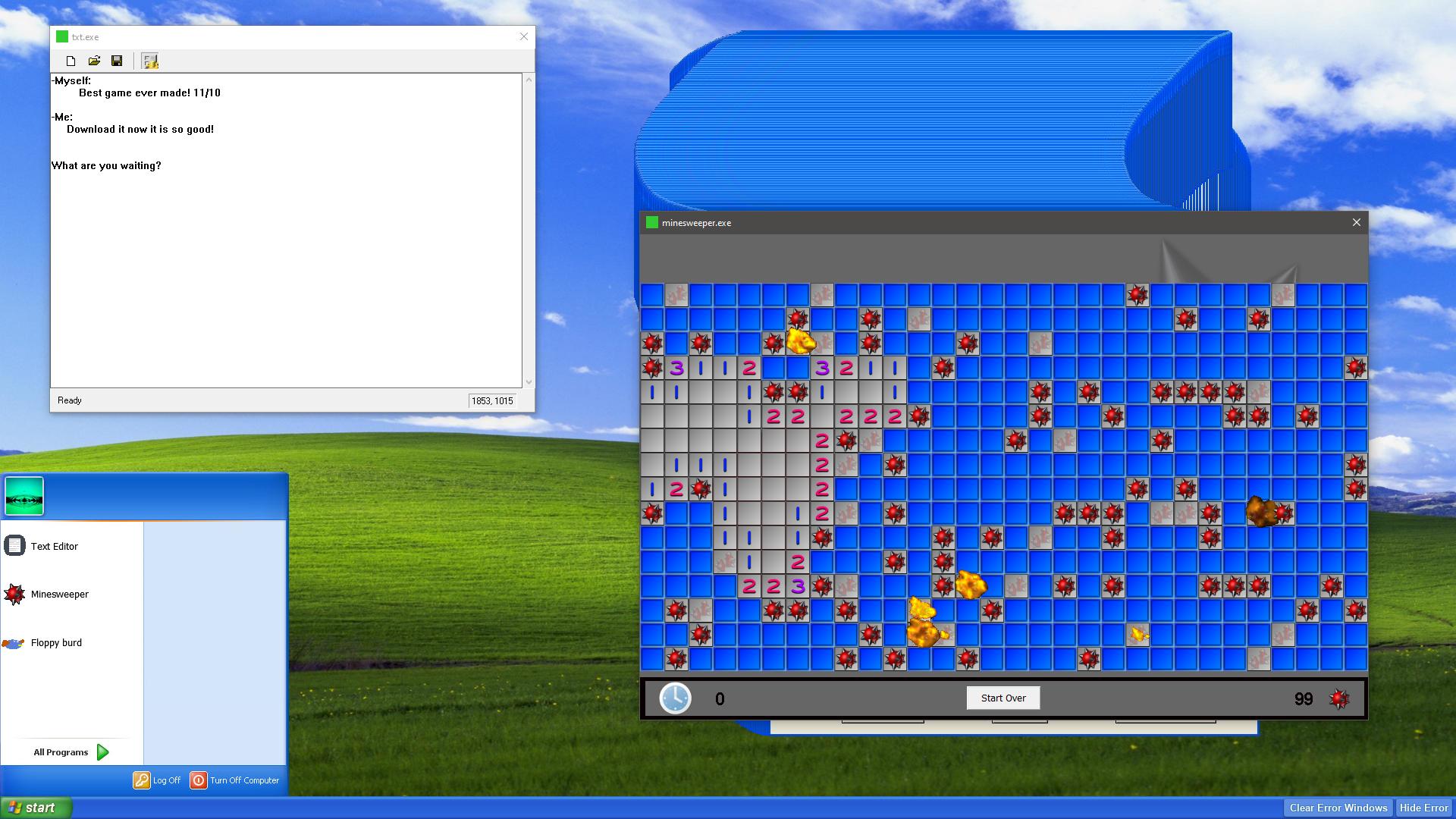 Windows XP Error Simulator 2019 by Nick44