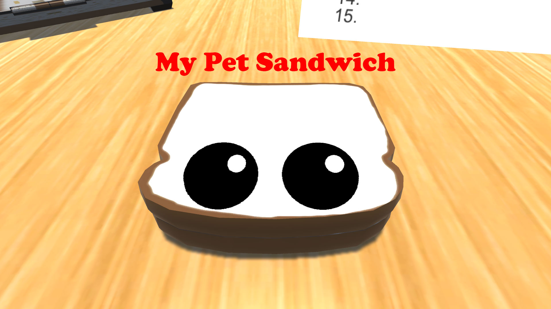 My Pet Sandwich