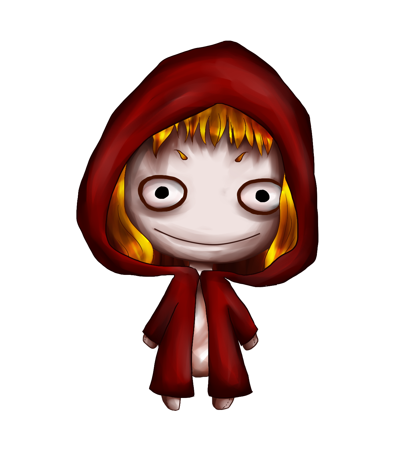 le petit chaperon rouge by pelirrojaas