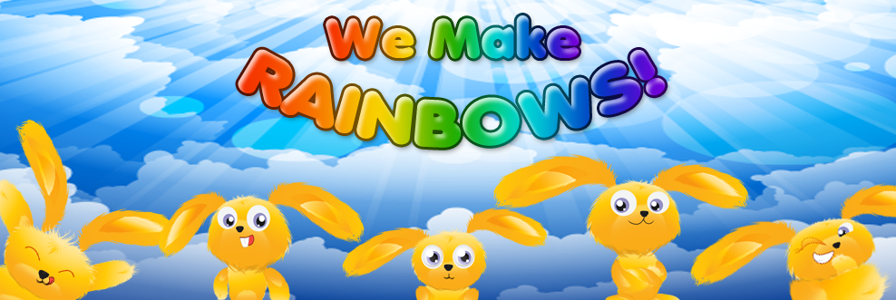 We make rainbows!