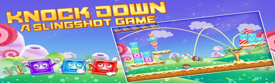Knock Down : A Slingshot Game