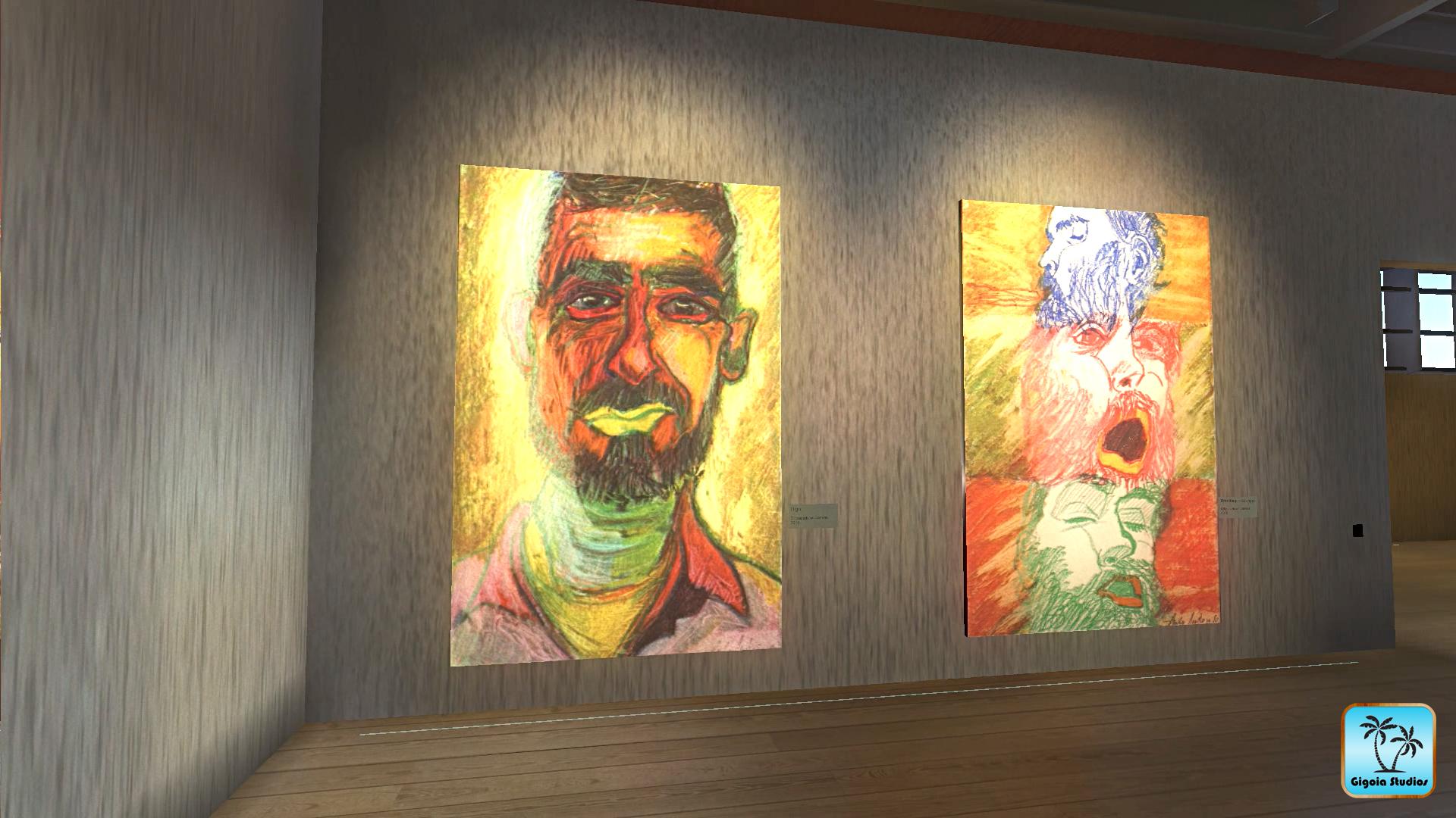 FACES Virtual Art Gallery by Gigoia Studios