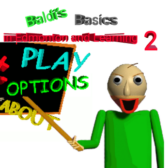 Baldi's Basics 2 development build title screen