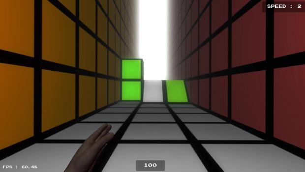 Tetris Runner by Wolderado