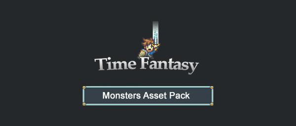 Monsters Time Fantasy RPG Sprites