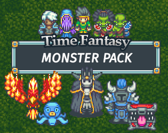 Monsters Time Fantasy RPG Sprites by finalbossblues