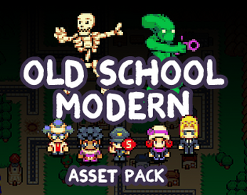 Old School Modern Asset Pack by finalbossblues