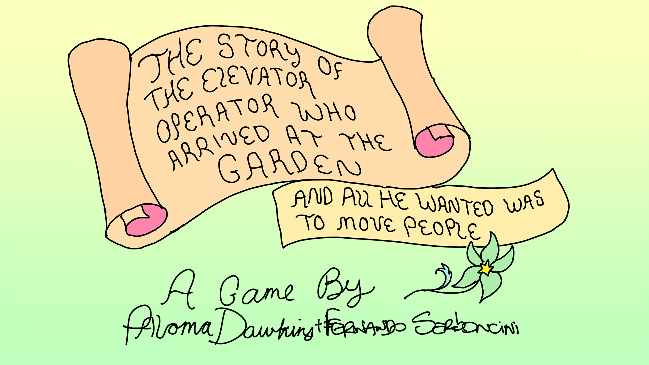 The Story of the Elevator Operator who arrived at the Garden