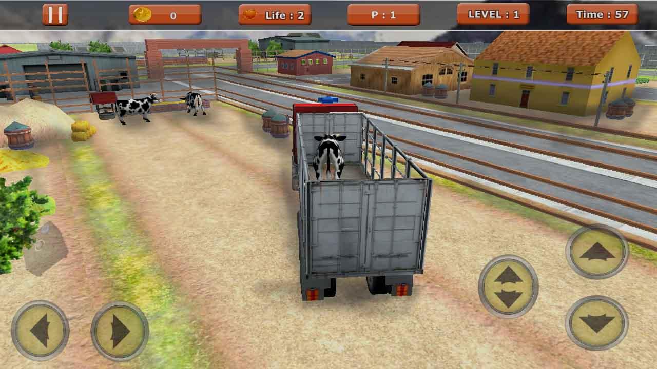 animal truck game