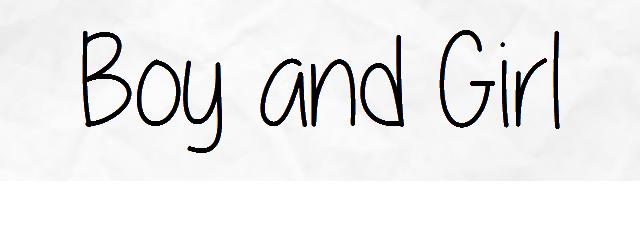 Boy and Girl - 5 Episodes - PDF