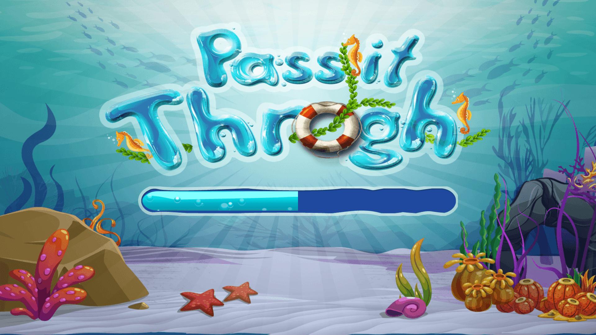 Pass it through