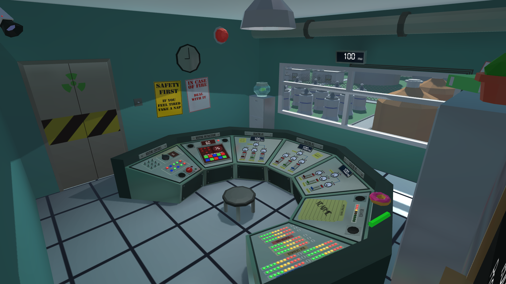 Micro-simulation technology nuclear power plant simulation.